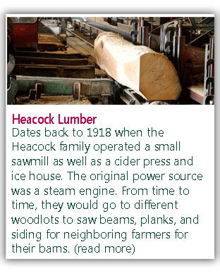 Heacock Lumber - Plumstead, PA - Rough Cut Lumber - Logging